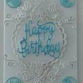 Happy Birthday Card Baby boy