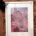 Framed Acrylic Fluid Assorted Artwork