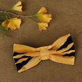 Tasmanian Tiger Pet Bow Tie - Gold