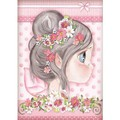 Rice Paper - Decoupage -  1 x A4 Size Sheet - Pink Fairy