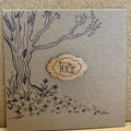 FOREST FRIENDS HANDMADE GREETING CARD WITH WOODEN ACCENT