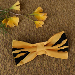 Tasmanian Tiger Pet Bow Tie - Gold