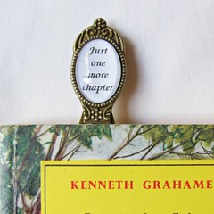 Bookworm Quote Bookmark Gift Just One More Chapter Book Clip Librarian Reader