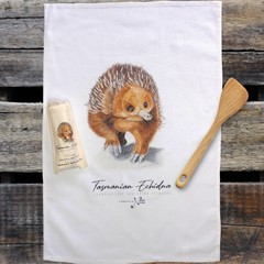 100%  Cotton Tea Towel - Echidna
