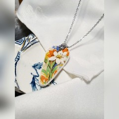 Maddock Floral Pendant