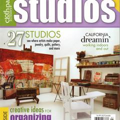 Cloth Paper Scissors, Studios Magazine, Spring 2012,Special Issue, Craft Destash