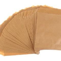25 Pieces Kraft Paper Favour Party Bags