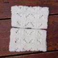 Cuff medium wool white