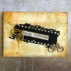 Handmade Card - HAPPY BIRTHDAY