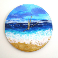 RESIN WALL CLOCK Beach Themed ORDER FORM
