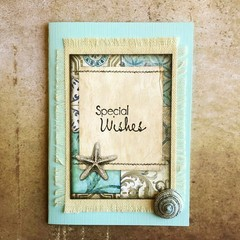 Handmade Card - SPECIAL WISHES