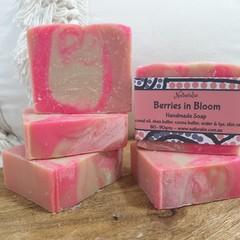 Berries in Bloom Handmade Soap