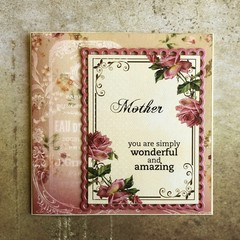 Handmade Card - MOTHER