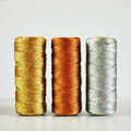 SILVER Metallic Bakers Twine {10m} Metallic Twine   Sparkly String