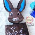Peter Rabbit 'Ruggybud' - personalised, comforter, keepsake, lovey.