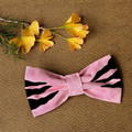Tasmanian Tiger Pet Bow Tie - Pink