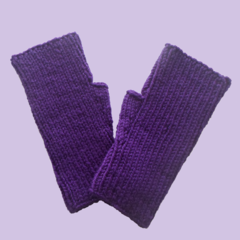 Purple Texting Mitts for Teenagers or Adults