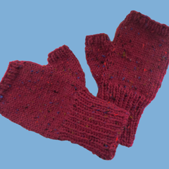 Red Mitts for Medium / Large Adult Size Hand