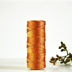 COPPER Metallic Bakers Twine {10m} Metallic Twine | Sparkly String