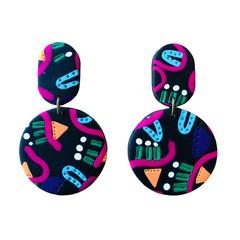 Matilda Earrings - Space Walk