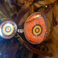 Sundial Bracelet and Pendant Set