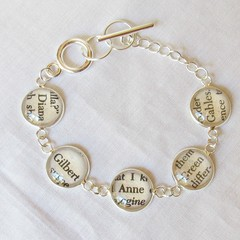 Anne of Green Gables Bracelet Jewellery Tennis Style Shirley Gilbert Blythe