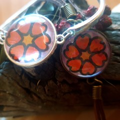 Love heart bracelet Set