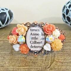 Anne of Green Gables Jewellery Cuff Bangle Bracelet Shirley Gilbert Blythe