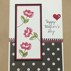 Mother's Day Handmade Card - mother's way