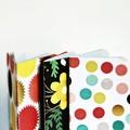 Mid 3x4in {2} Blank Books Starbursts | Pocket Notebooks | Starburst Notebooks