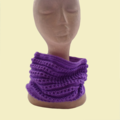 Purple Cowl / Circle Scarf