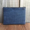 Upcycled Denim Purse - Red Hearts