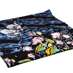 100 % Silk Hand-painted Batik Scarves