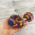Button Bowl - Resin & Buttons - MULTICOLOURED