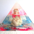 RESIN FAIRY ANGEL PYRAMID