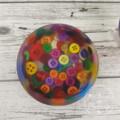 Button Bowl - Resin & Buttons - MULTICOLOURED