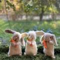 Cuddly Bunny Softie Crochet Bunny Teddy Handmade Toy