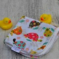 Large, luxurious Face Washers - with Infant and Children's Prints