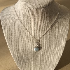 Larimar Gemstone Pendant Necklace