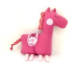 Pony softie, READY TO POST, personalised toy, stuffed animal, baby girl toy