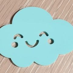 Get Happy Cloud Brooch