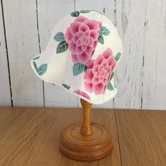 Baby Blossom Hat - Camellia Japonica - 6-12 months