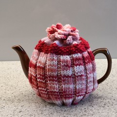 Tea Cosy in Stretch Rib for easy fit