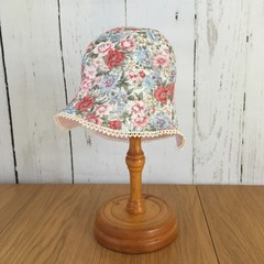Baby Blossom Hat - Wild Roses - 6-12 months