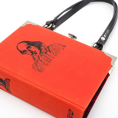 William Shakespeare Novel Bag - Upcycled book - Bag made from a book