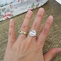 Mrs Darcy Ring Jane Austen Jewellery Pride and Prejudice Silver Plated
