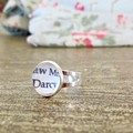 Mr Darcy Ring Jane Austen Jewellery Pride and Prejudice Silver Plated Adjustable