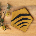 Small - Tasmanian Tiger Pet Bandana - Mustard