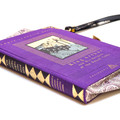 King Arthur and His Knights of the Round Table Novel Bag - Bag made from a book