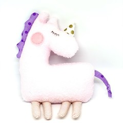 Unicorn softie, READY TO POST, personalised toy, baby girl toy, stuffed animal